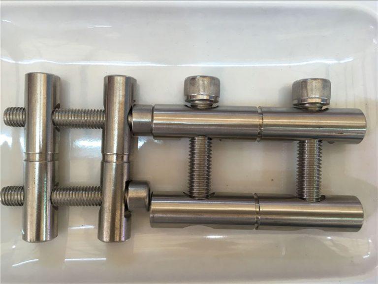ansi 316ti / en 1.4571 ، 317l / en 1.4438 سلسلة ربط قطع الفولاذ المقاوم للصدأ