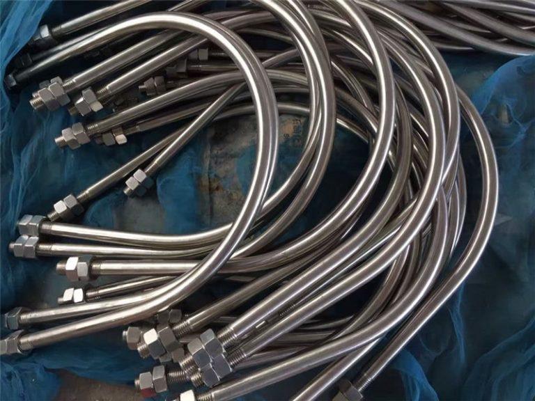 سبيكة 825 أون 2.4858 الفولاذ المقاوم للصدأ ش الترباس سبيكة 718 en2.4668 من الصين