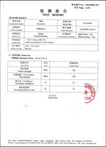 شهادة A193 B8M CL2
