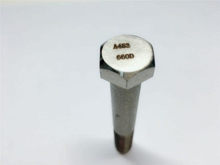 a286 السحابات عالية الجودة astm a453 660 en1.4980 تثبيتات الأجهزة المسمار الجهاز