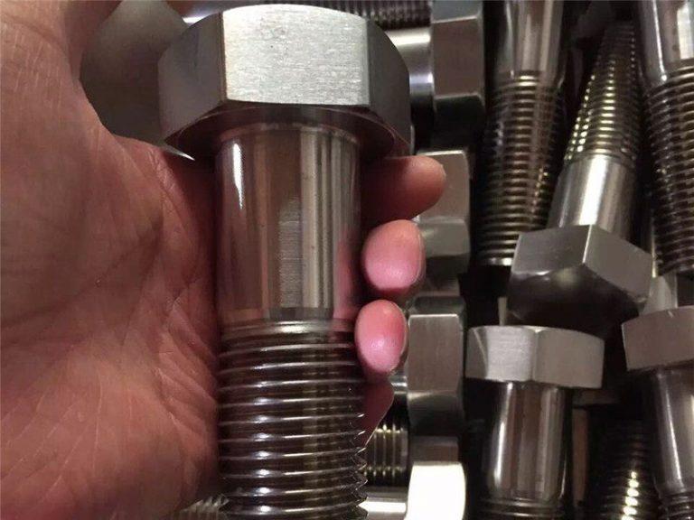 incoloy 825 ar 2.4858 الفولاذ المقاوم للصدأ الترباس المسمار السحابة inconel718 en2.4668