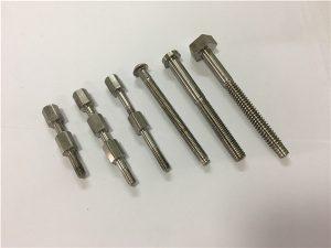 No.41-CNC التيتانيوم جزء آلة الترباس والجوز