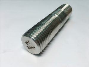 No.62-Monel K500 قضيب ملولب