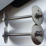 ss310 / ss310s astm f593 السحابة ، مسامير الفولاذ المقاوم للصدأ والمكسرات وغسالات