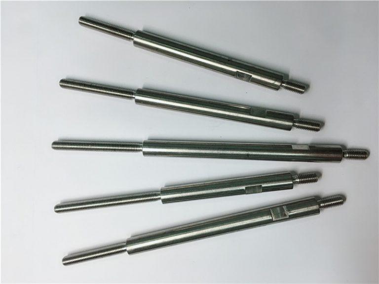 التصنيع باستخدام الحاسب الآلي الدقة بالقطع الفولاذ المقاوم للصدأ السحابات الخيوط