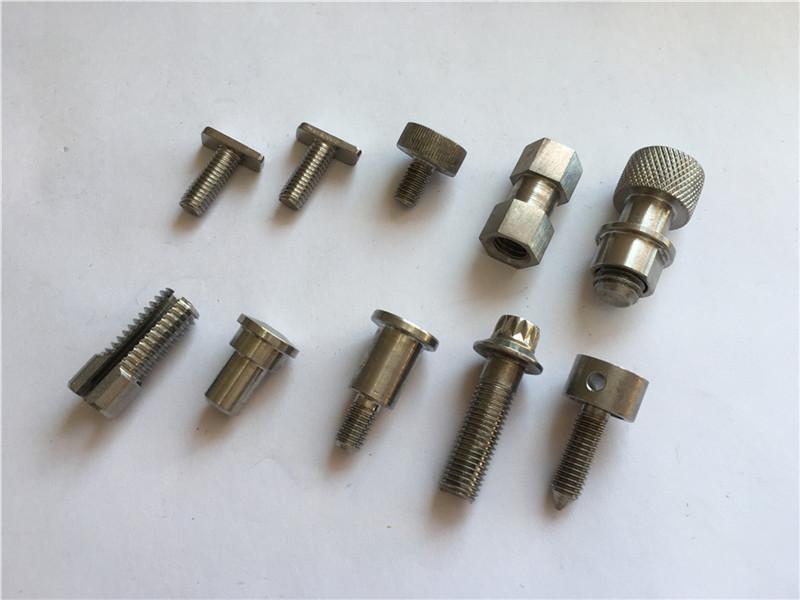 تخصيص عالية الدقة المسمار غير قياسي ، الفولاذ المقاوم للصدأ التصنيع باستخدام الحاسب الآلي المسمار