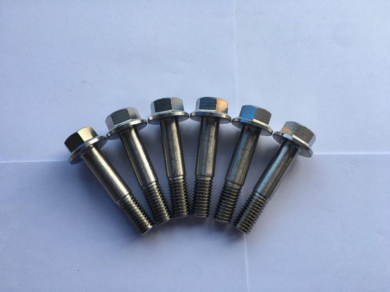 الدين 7504 sudin 7504 السوبر دوبلكس f55 الفولاذ المقاوم للصدأ مسدس شفة رئيس الذاتي الحفر المسمار