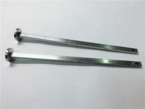 مورد الأجهزة السحابة 316 الفولاذ المقاوم للصدأ مسطح الرأس الرقبة din603 m4 النقل الترباس