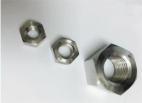 دوبلكس 2205 / f55 / 1.4501 / s32760 الفولاذ المقاوم للصدأ السحابات الثقيلة عرافة الجوز m20
